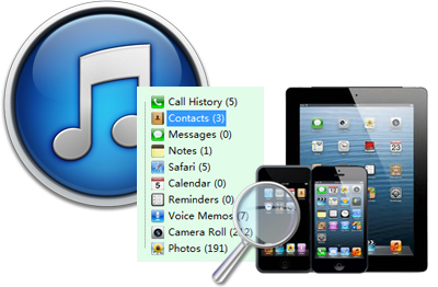 Data Recovery for iTunes: Find Back Lost Data from iTunes Back File