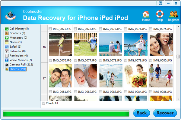 preview files before recovery