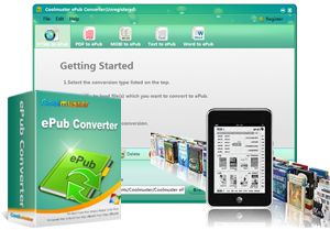 Coolmuster ePub Converter: Enjoy ePub Books On the Go