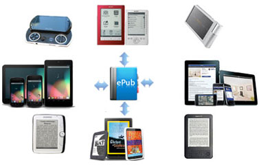 read epub books on various ereaders