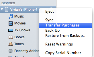 sync iphone with new mac