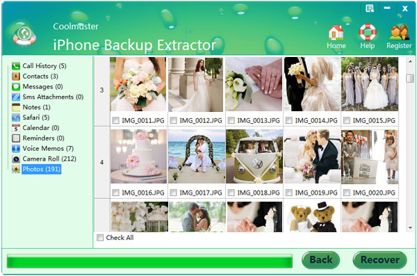 extract locked iphone itunes backup files