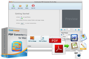 Coolmuster PDF Converter Pro for Mac - Export Adobe to 5