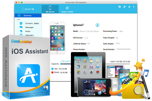iOS Assistant for Mac - Manage iPhone, iPad, iPod on Mac