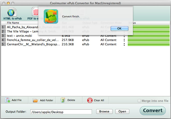 Mac ePub Converter Software - How to Make ePub Files on Mac OS X