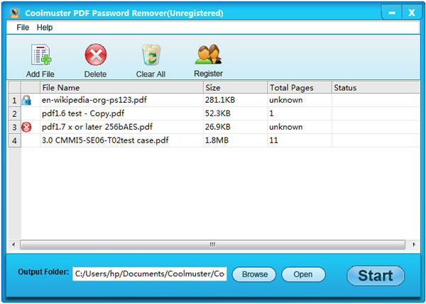 Free download Coolmuster PDF Password Remover to have a try!