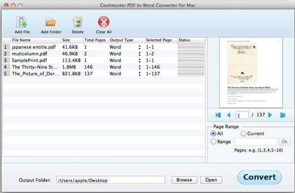 How To Convert Pdf To Word For Mac