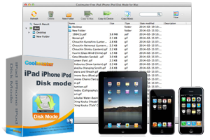 Coolmuster Free iPad iPhone iPod Disk Mode for Mac - Use