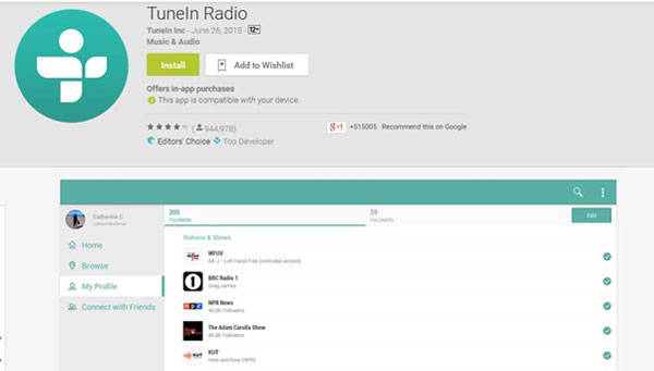 music radio apps for android ios
