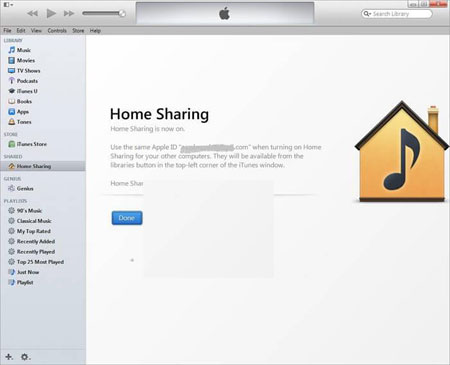 share ipod music with other devices