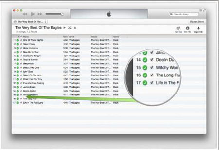 transfer songs from cd to iphone