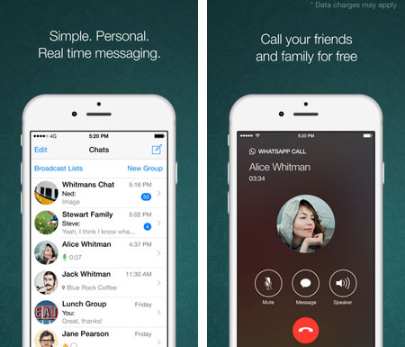 text messaging app for iphone