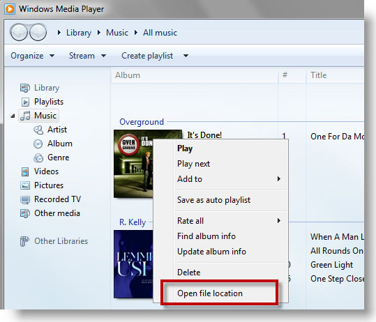 How to Sync Music between Windows Media Player and iTunes