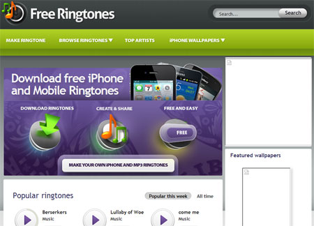 free ringtone songs for iphone ringtones for iphone 8190