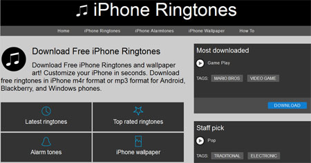 ringtones for iphone