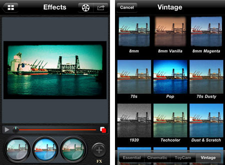 video editors for iphone