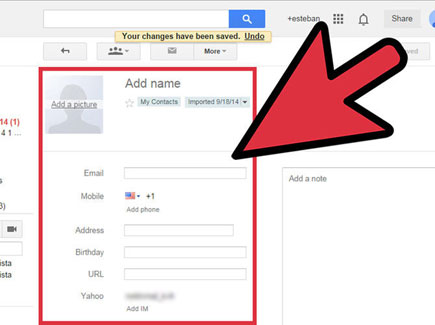 share files from yahoo mail to gmail