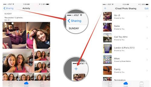 icloud photo sharing