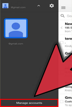 set up gmail on iphone