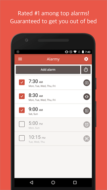 alarm clocks for android
