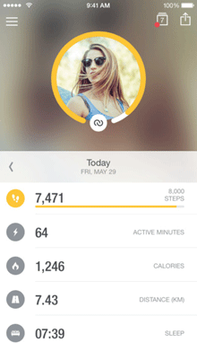 activity tracker for iphone