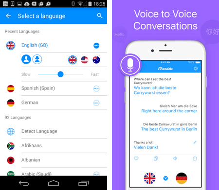 translation app for android ios