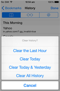 clear all iphone junk files
