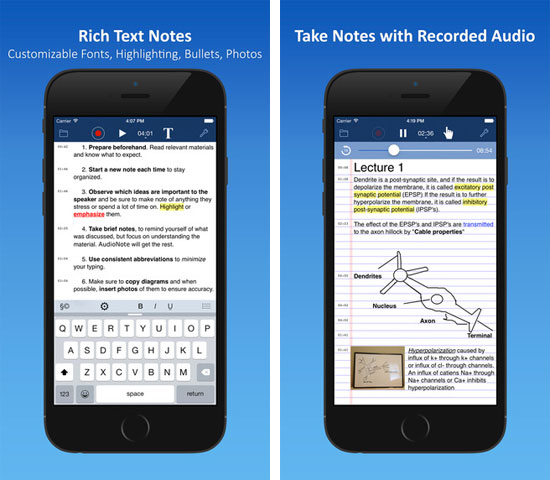 best note taking app for iphone