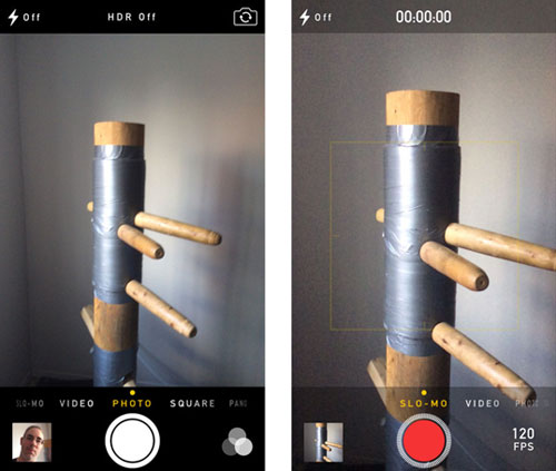 how to create slow motion video with iphone