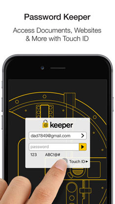 password manager app for iphone
