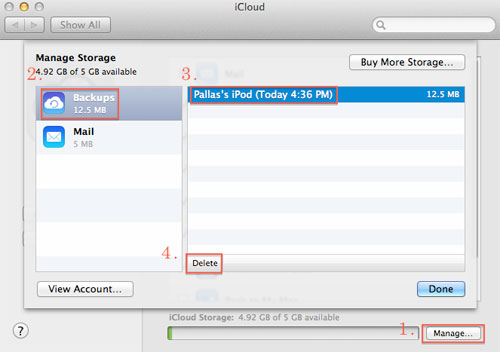 how to free up icloud storage