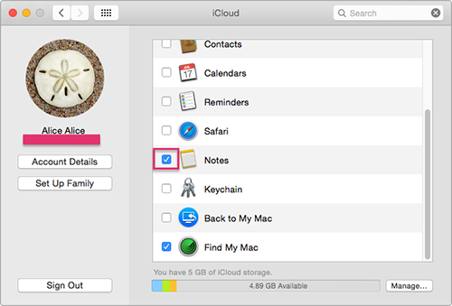 sync ipad with mac