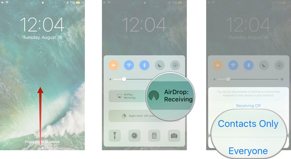 transfer files from mac to iphone with airdrop