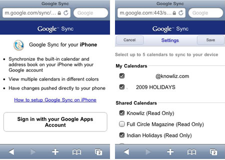 how to share google calendar on iphone sync calendars with iphone 20326