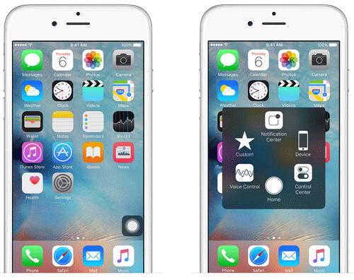 capture a screenshot on iphone