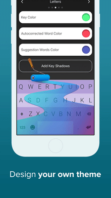 custom keyboard for iphone