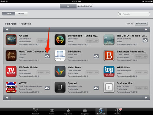 download apps on ipad