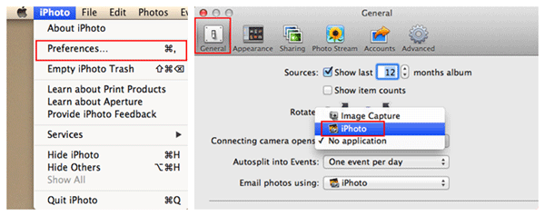 transfer data from iphone to pc without itunes via iphoto