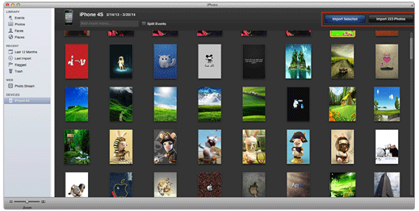 transfer files from iphone to pc without itunes via iphoto