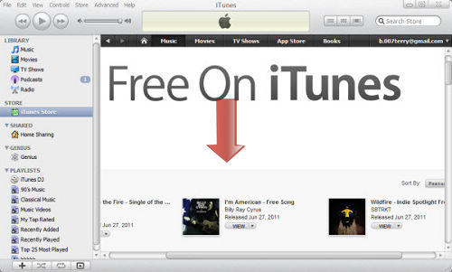 can i download free music from itunes