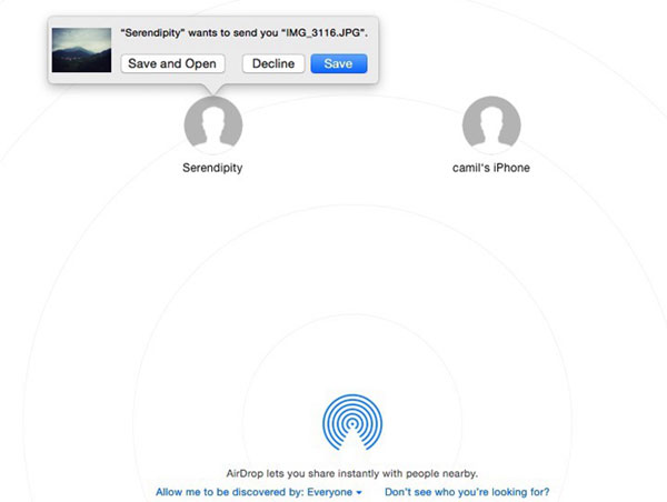 transfer messages from iphone to mac with airdrop