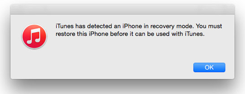 turn iphone into recovery mode