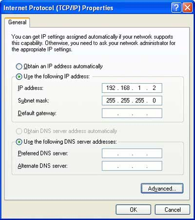 fix error 6 by verifying network settings