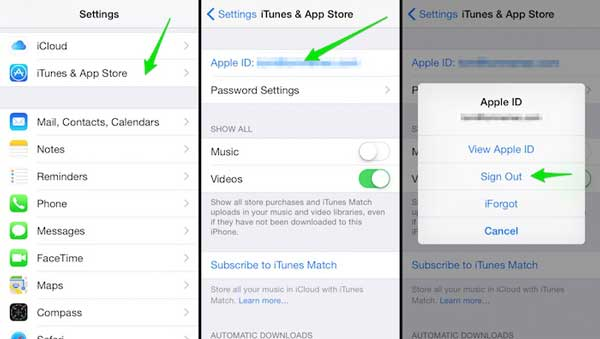 logout and login again your apple id