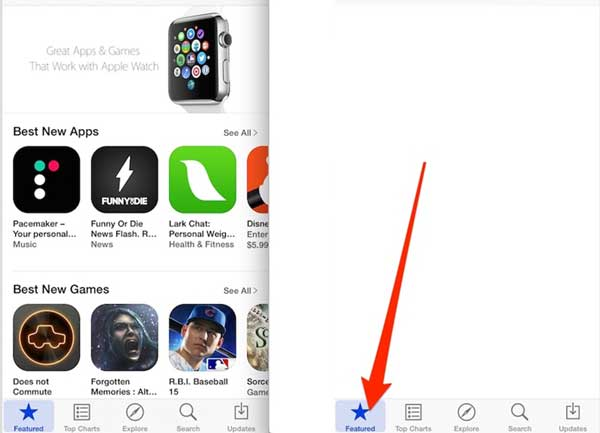 forcefully refresh app store