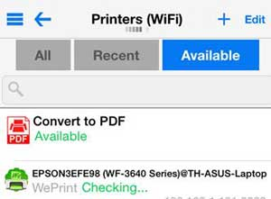 how to connect iphone to printer connect iphone to printer via printcentral 18684