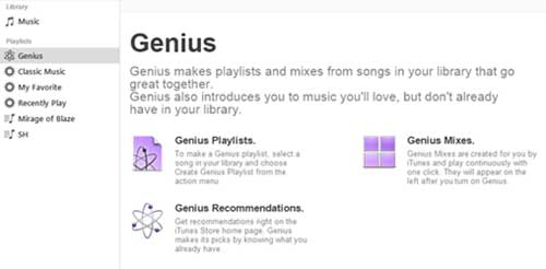 turn off genius on itunes