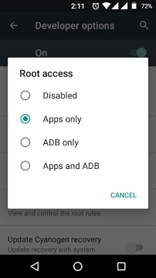 how to hide android root access