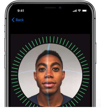 face id of iphone x