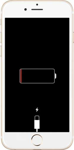 drain out iphone battery to fix iphone keeps turning off